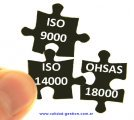 ISO 9000 + ISO 14000 + OHSAS 18000