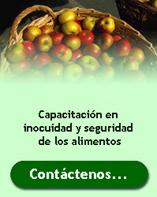 Capacitacion en Inocuidad Alimentaria