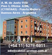 Consultoria ISO 9000, iso 14000, ohsas 18000, iso 22000, fsc, auditoria | Calidad & Gestion